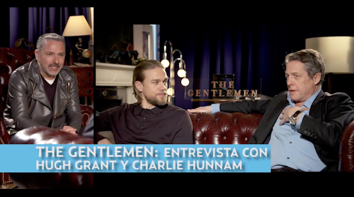 Entrevista con Hugh Grant y Charlie Hunnam