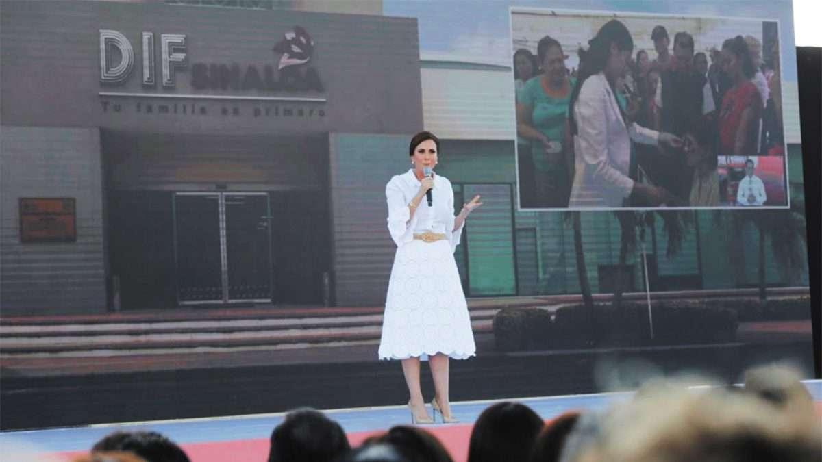 INFORME. La presidenta del DIF abordó ayer el tema de la inclusión. Foto: Especial