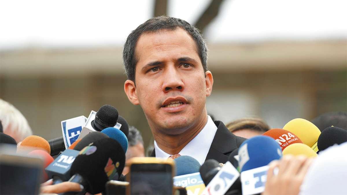 PLAN. Guaidó anunció que se prepara para una nueva escalada de presión contra Nicolás Maduro. FOTO: AFP