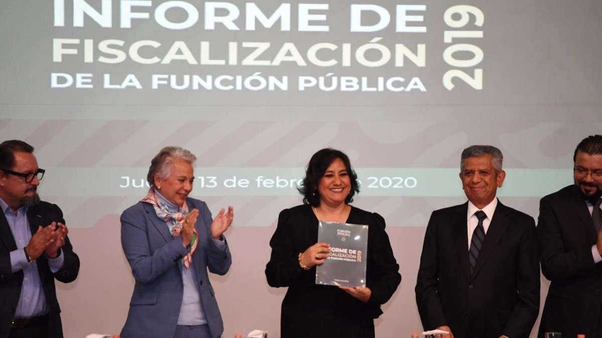 Función Pública Irma Eréndira Sandoval irregularidades administracion peña nieto