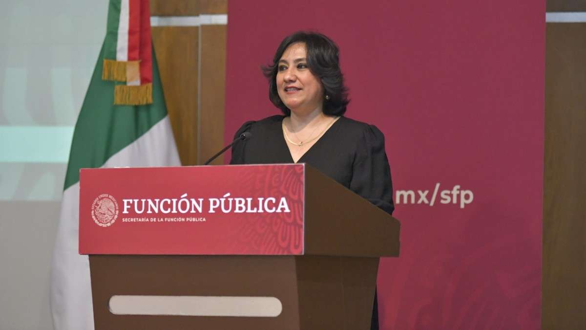 irma erendira sandoval funcion publica informe de gobierno