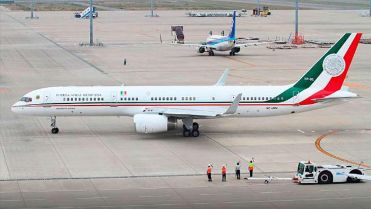 avion presidencial mexico rifa empresarios