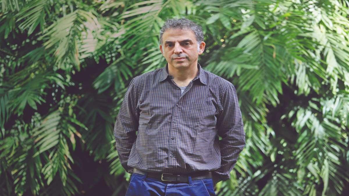 INTERNACIONAL. Keret es un escritor de cuentos, guionista y director de cine. Foto: Víctor Gahbler