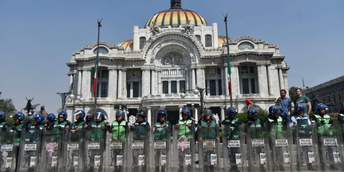 Se espera presencia de manifestantes en varios puntos de la CDMX. Foto: Daniel Ojeda