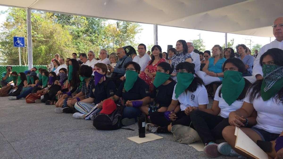 estudiantes protestas yucatan unam nrique Graue