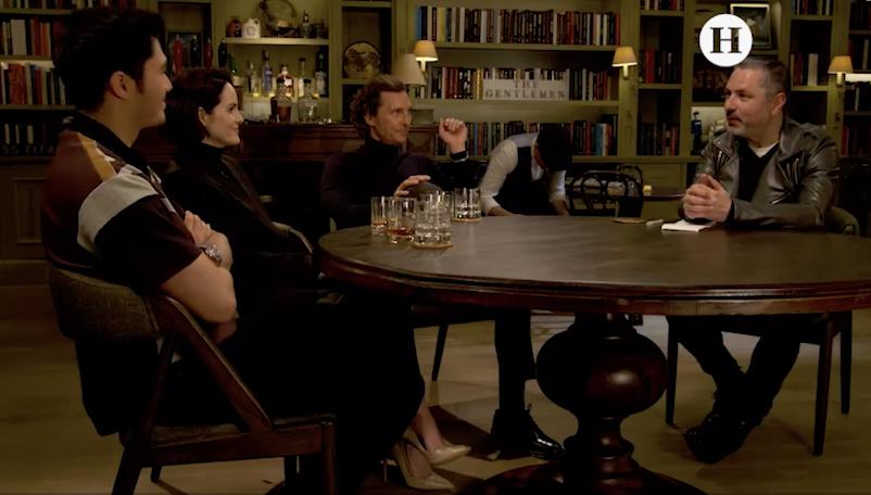 Entrevista con Matther McConaughey, Michelle Dockery y Henry Gonding