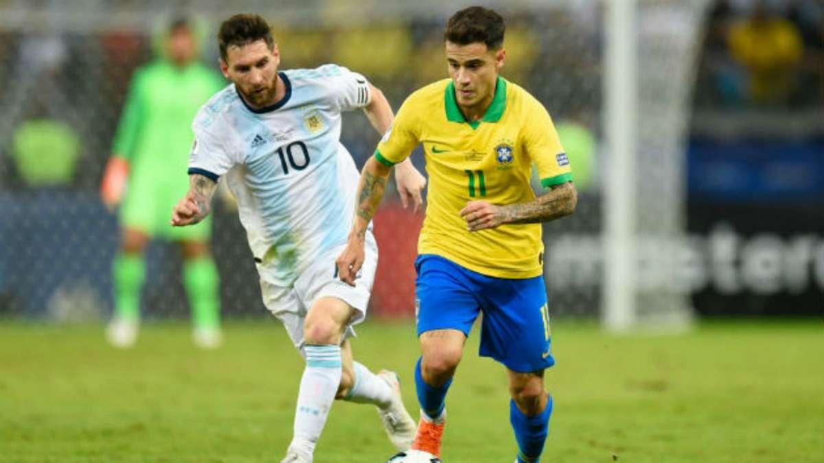 eliminatorias conmebol argentina brasil