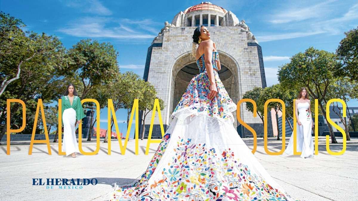 """DIFUSIÓN. """"Por medio de los bordados se busca promover la riqueza cultural de nuestro México"""" / FRANCIA MARTÍNEZ. Foto: Cortesía"""