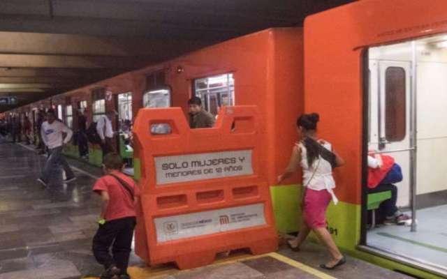 En la línea B la espera de convoy es de 10 minutos FOTO: CUARTOSCURO