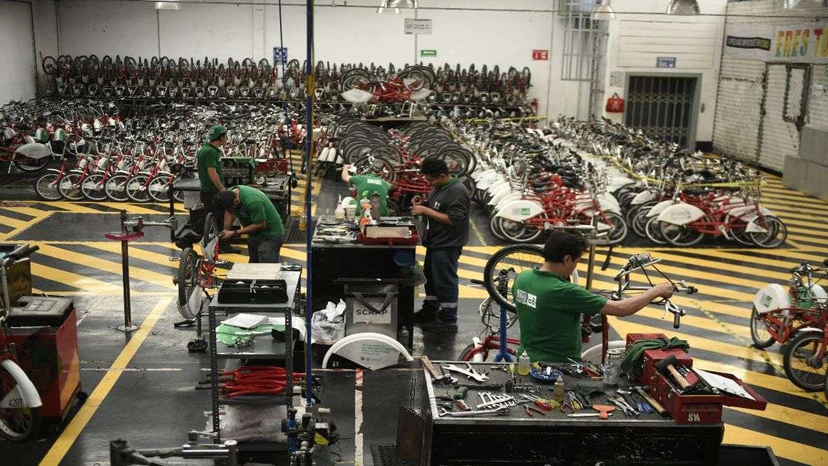Ecobici inició operaciones el 16 de febrero de 2010 con 85 estaciones y mil 100 bicicletas en la Cuauhtémoc. Foto: NAYELI CRUZ