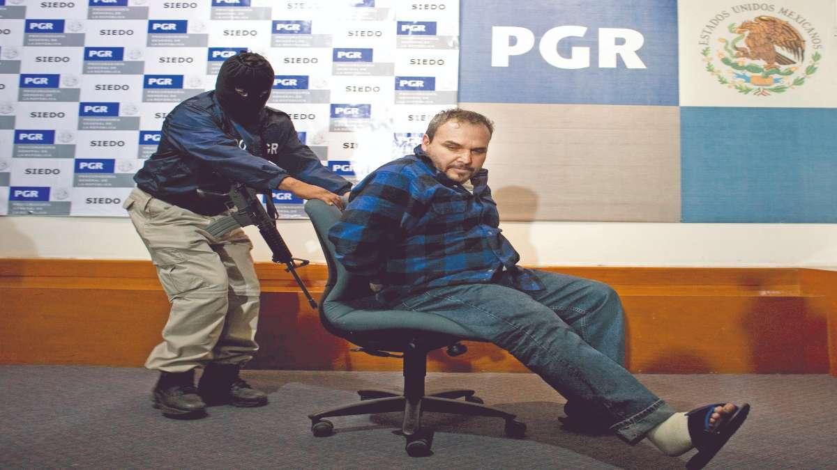 PRISIÓN. El Rey Zambada (hermano de El Mayo Zambada) fue capturado en México en octubre de 2008. Foto: AP