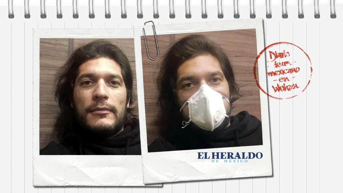 AL FIN LLEGAN AL PAÍS. Ayer llegaron de Francia los 10 mexicanos en cuarentena. Ilustración: Heraldo de México