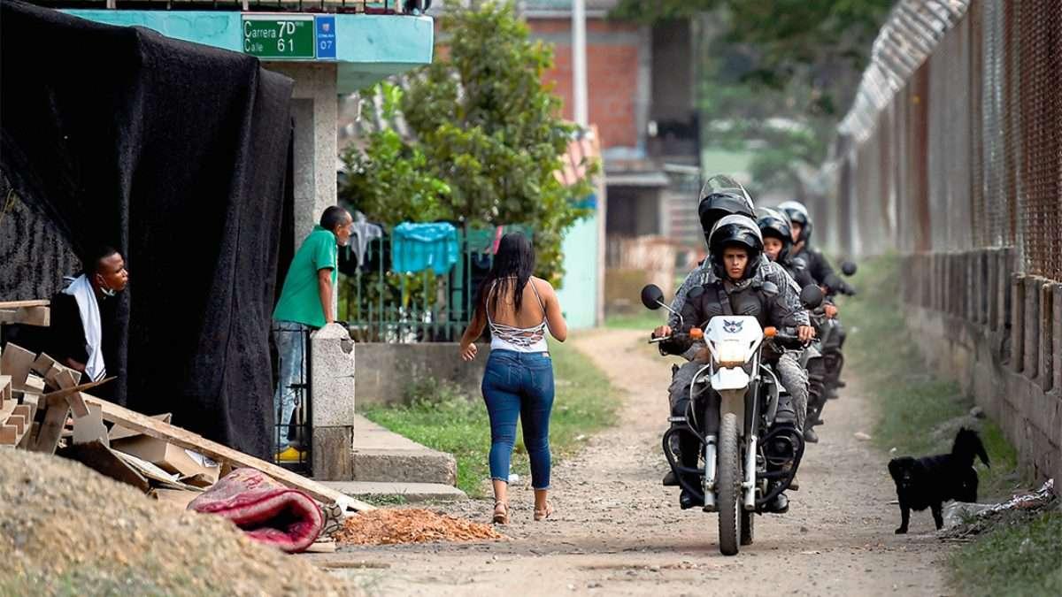 ZONA DE MIEDO. En el Valle del Cauca hay fuerte presencia de la guerrilla del ELN. Foto: AFP