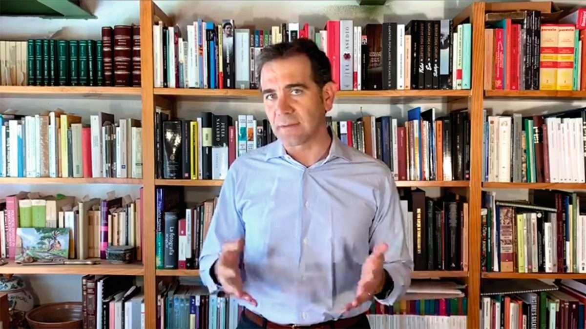 El presidente del Instituto, Lorenzo Córdova reiteró que hay ataques a la autonomía del Instituto. Foto: Especial