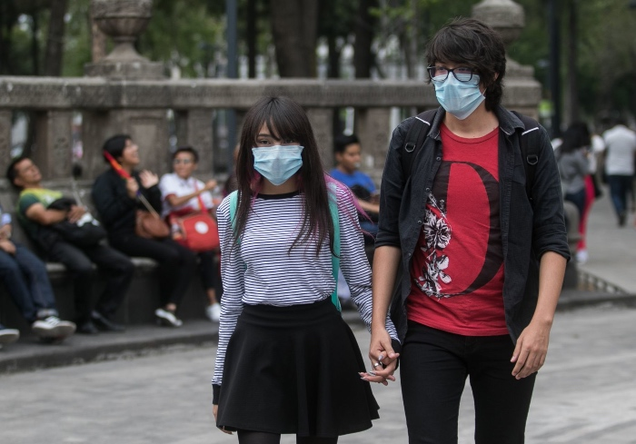 La contaminación repercute en diversas formas en la salud de los mexicanos. FOTO: Cuartoscuro