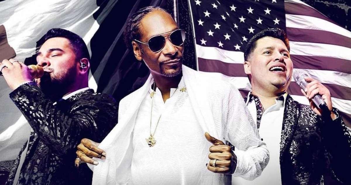 """¡Colaboración de lujo! Banda MS y Snoop Dogg reunirá a """"Dos culturas"""" en concierto"""
