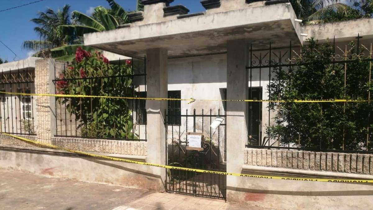 muerte discusion familiar asesinato delincuente yucatan