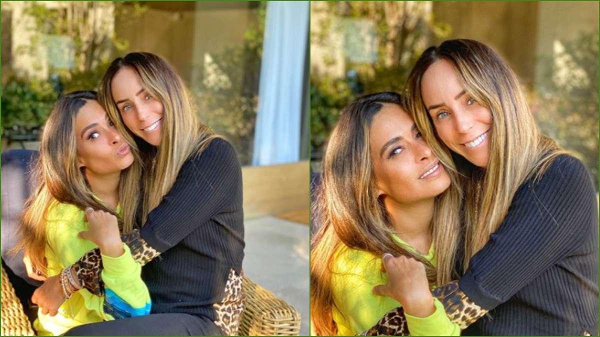 Galilea Montijo e Ines Gomez Mont en Tik Tok. Foto: Especial