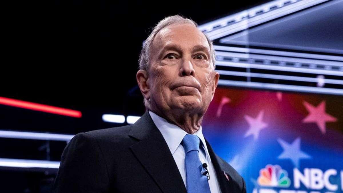 Michael Bloomberg en debate de Las Vegas