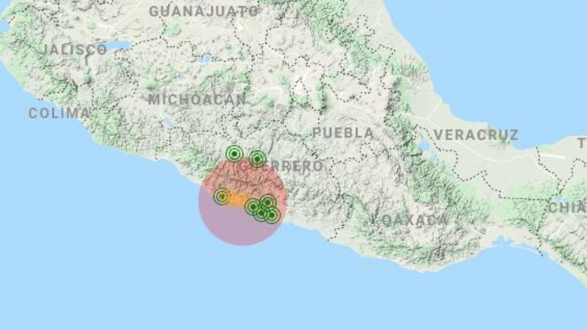 Sismo en Guerrero