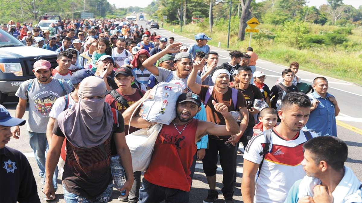 HACEN EL GASTO. Recursos utilizados para migrantes están sin solventar. Foto: Cuartoscuro