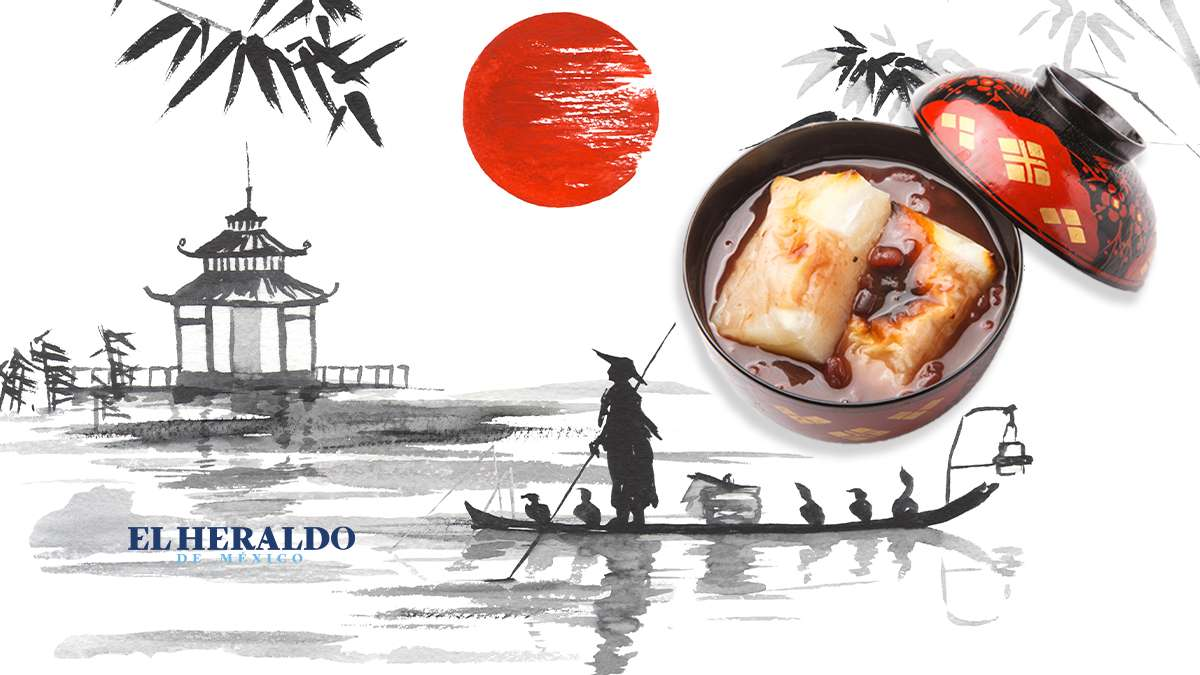 Conoce los postres típicos de Japón. Fotoarte: El Heraldo de México