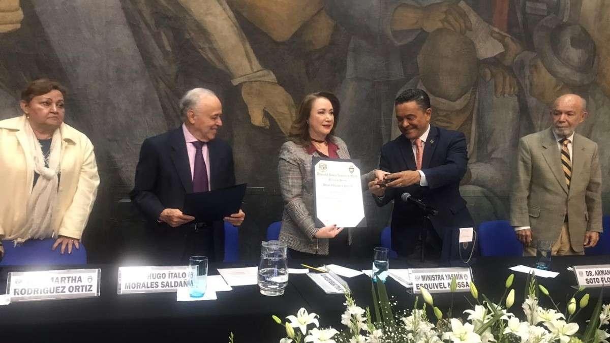 yasmin esquivel reforma judicial paridad de genero