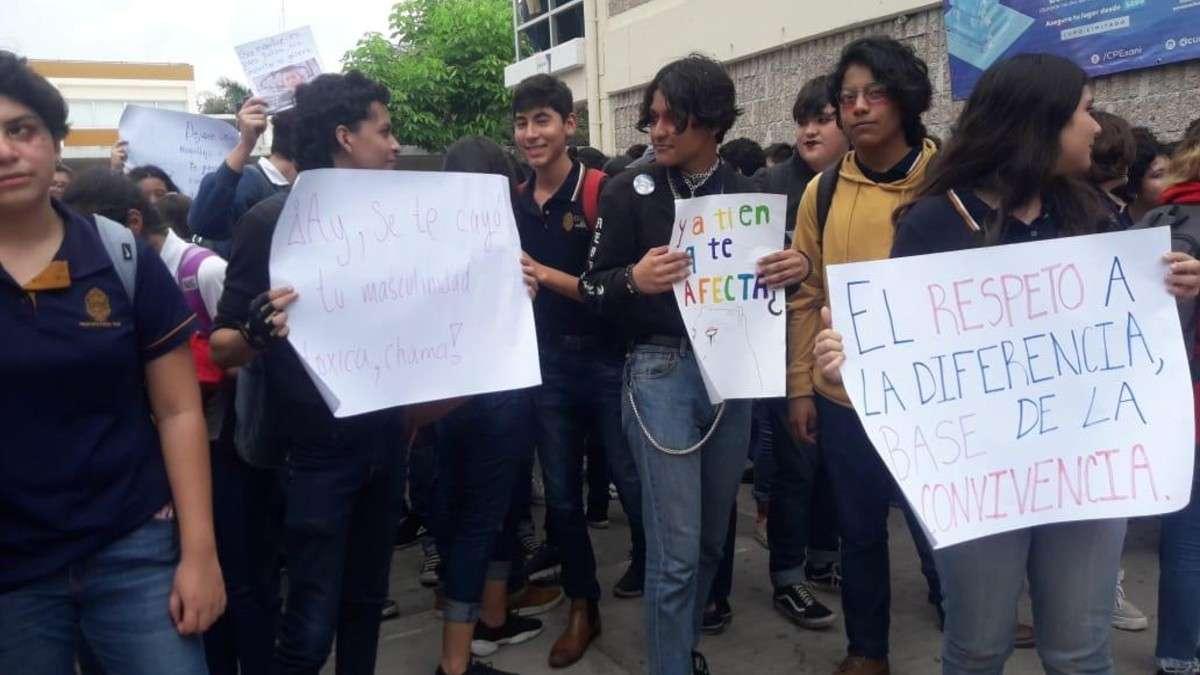 estudiantes yucatan prefectos protestas UADY
