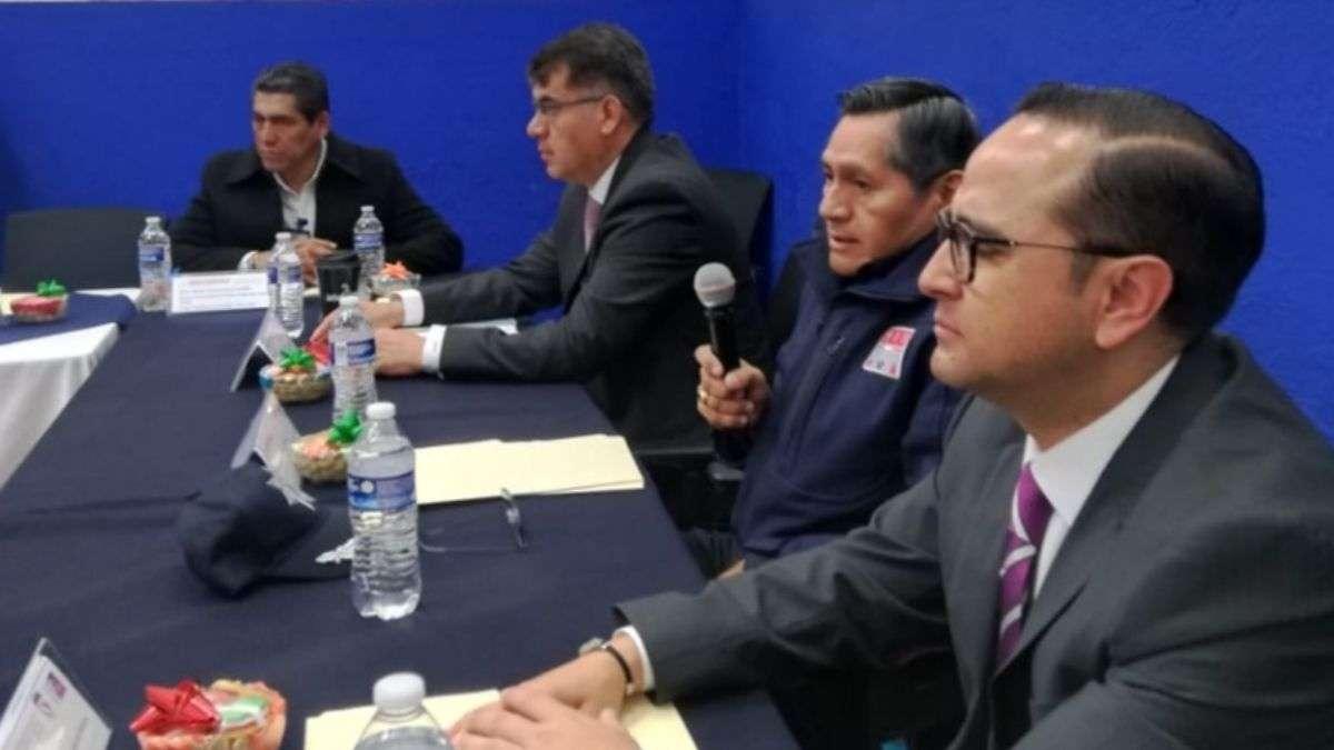 Funcionarios SSP Puebla