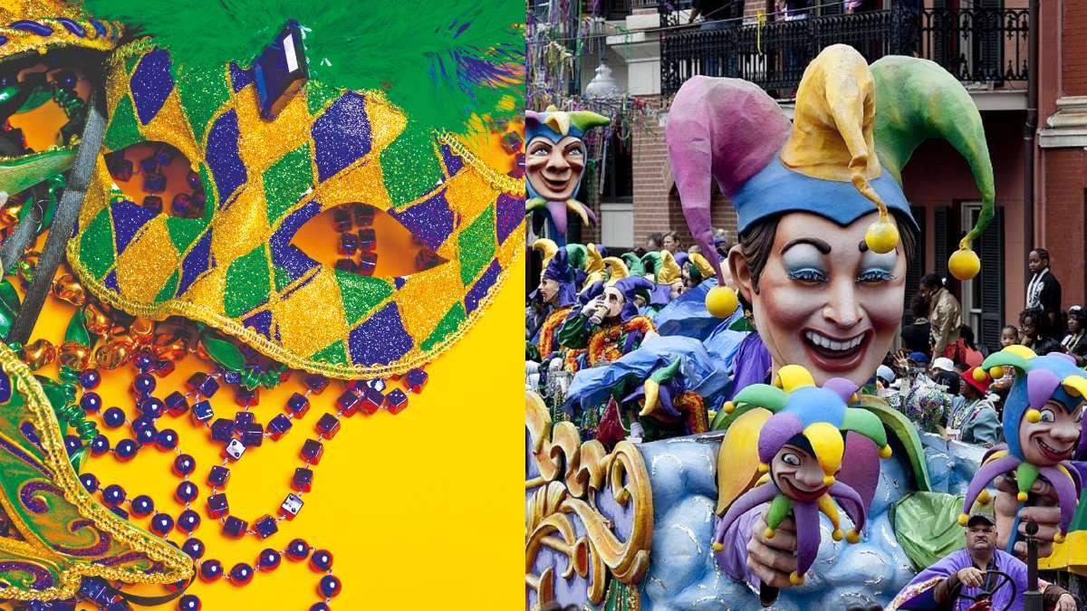 POSTRE. King Cake es un platillo típico del carnaval Mardi Grass. Foto: Especial