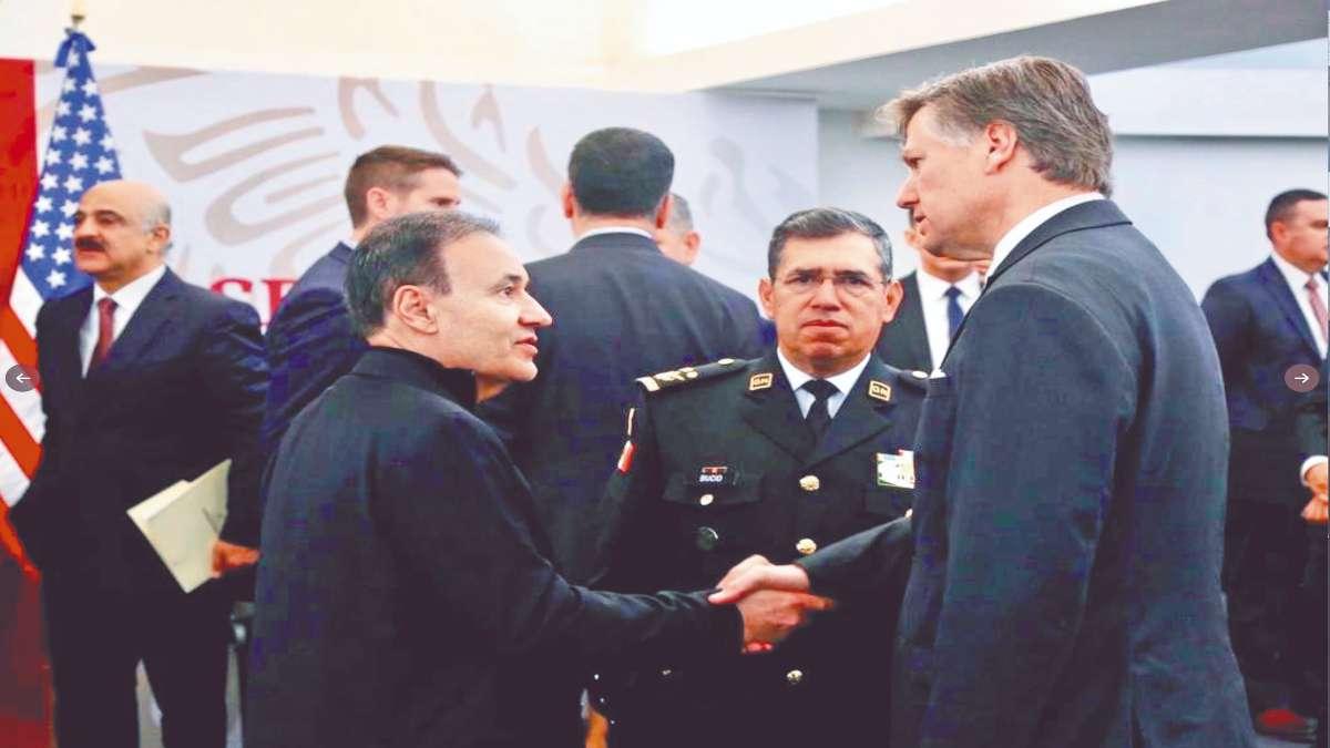 BINACIONAL. El encuentro México-EU se llevó a cabo en la sede de la SSPC.  Foto: Especial