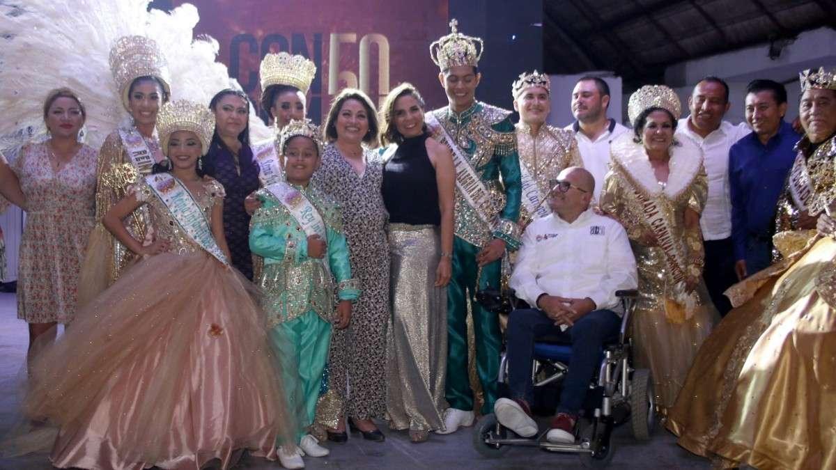 mara lezama 50 aniversario carnaval cancun quintana roo
