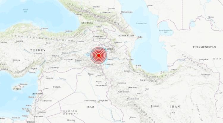 Zona del epicentro del terremoto. FOTO: earthquake.usgs.gov