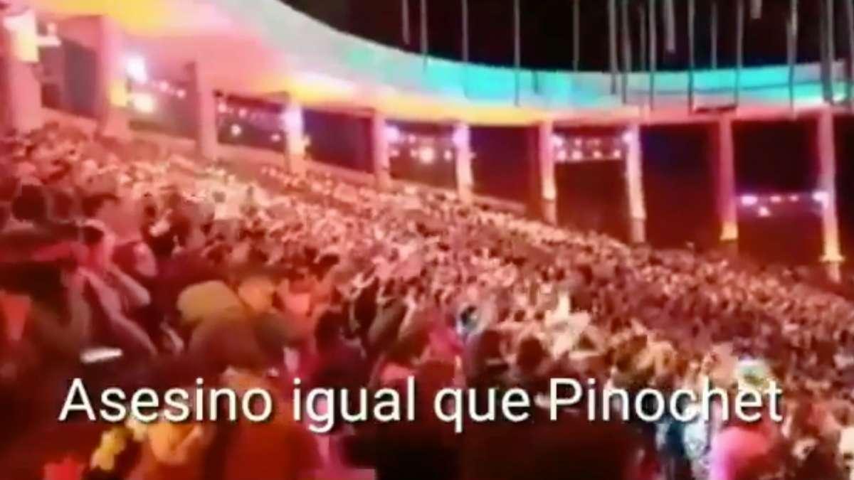 Chile presidente asesino Pinera Vina del Mar