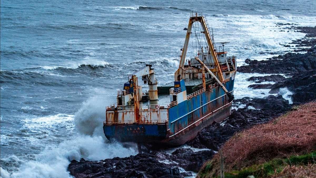 barco fantasma Irlanda