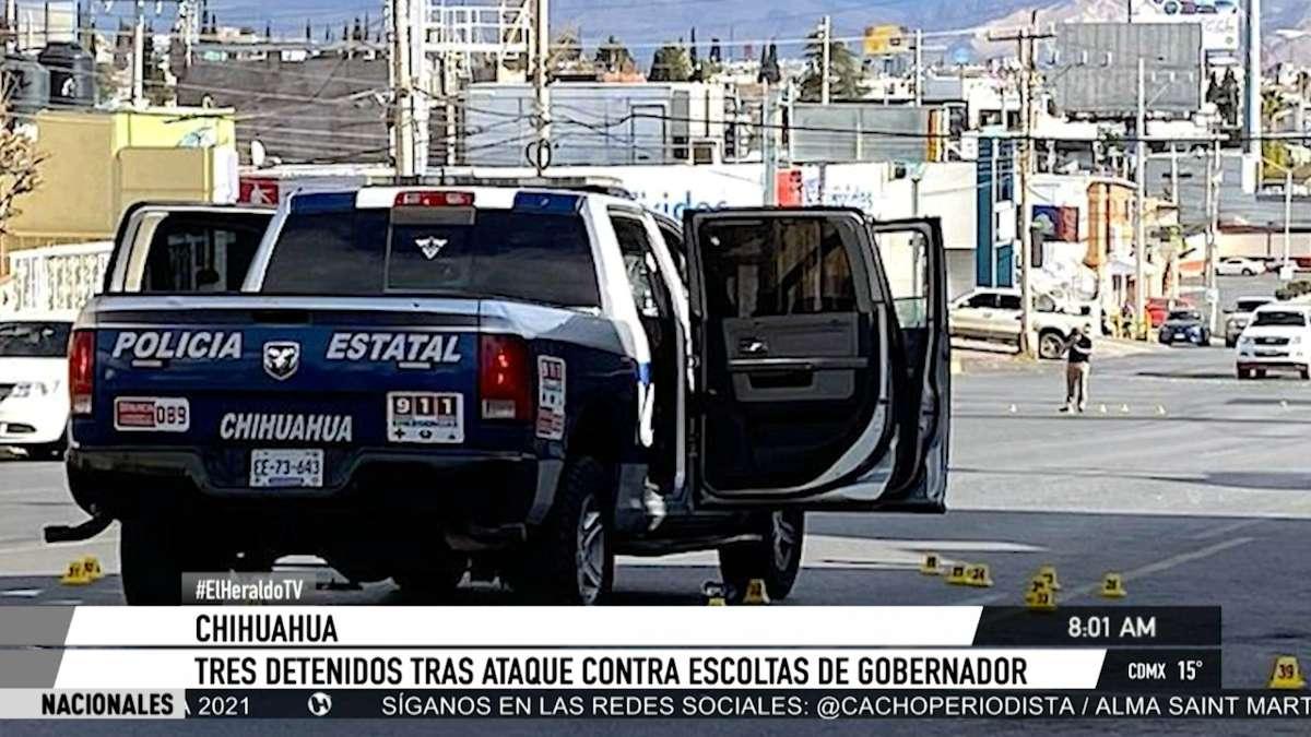 Ataques a escoltas de Javier Corral son respuesta a operativos de seguridad en el estado: César Peniche