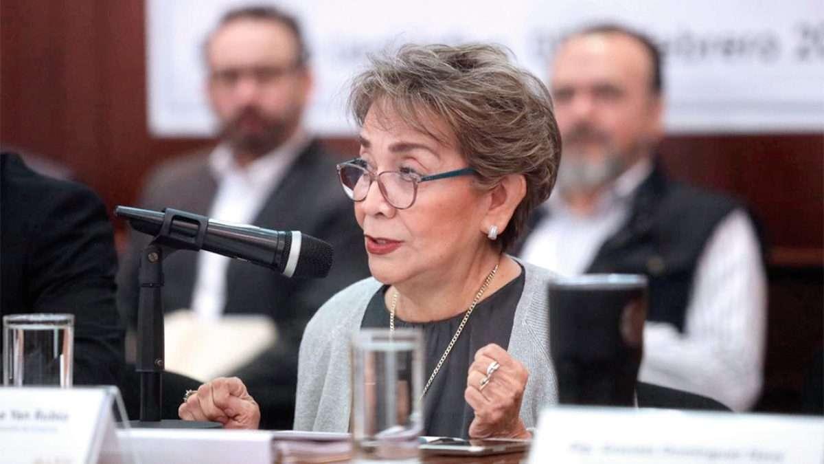 FIJA POSTURA. La secretaria de Transparencia se refirió a la revisión anual. Foto: Especial