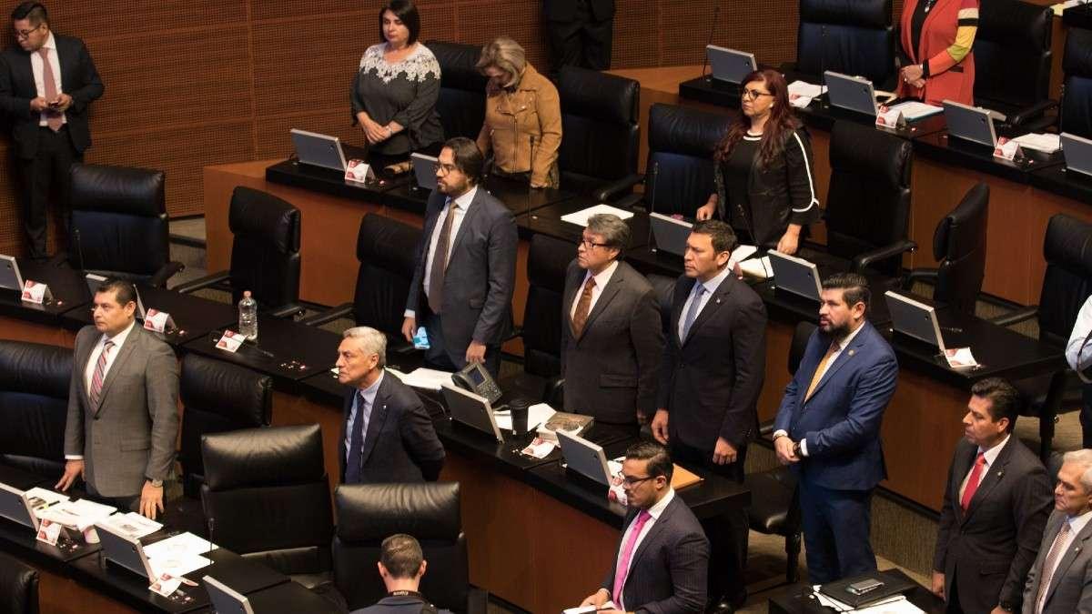 senado morena partidos politicos huelga notimex