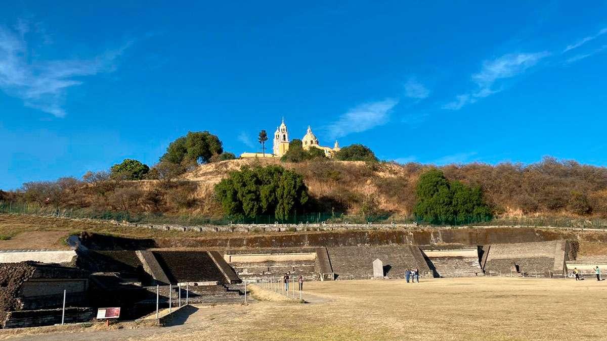 Piramide Cholula puebla