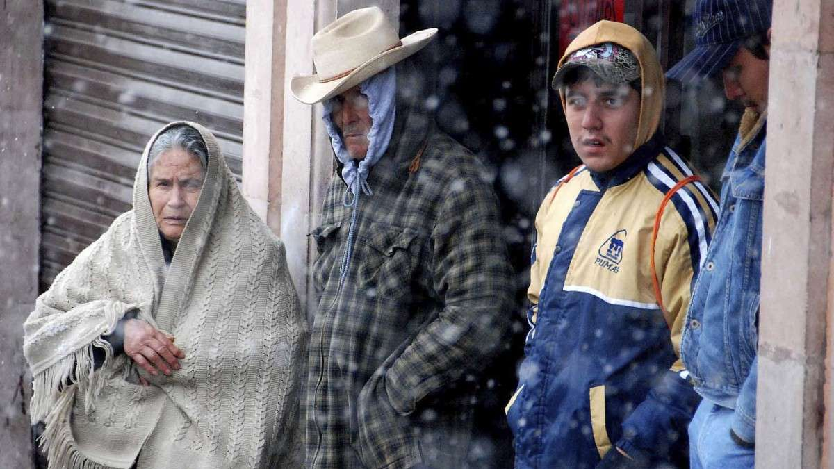 tamaulipas frente frio bajas temperaturas