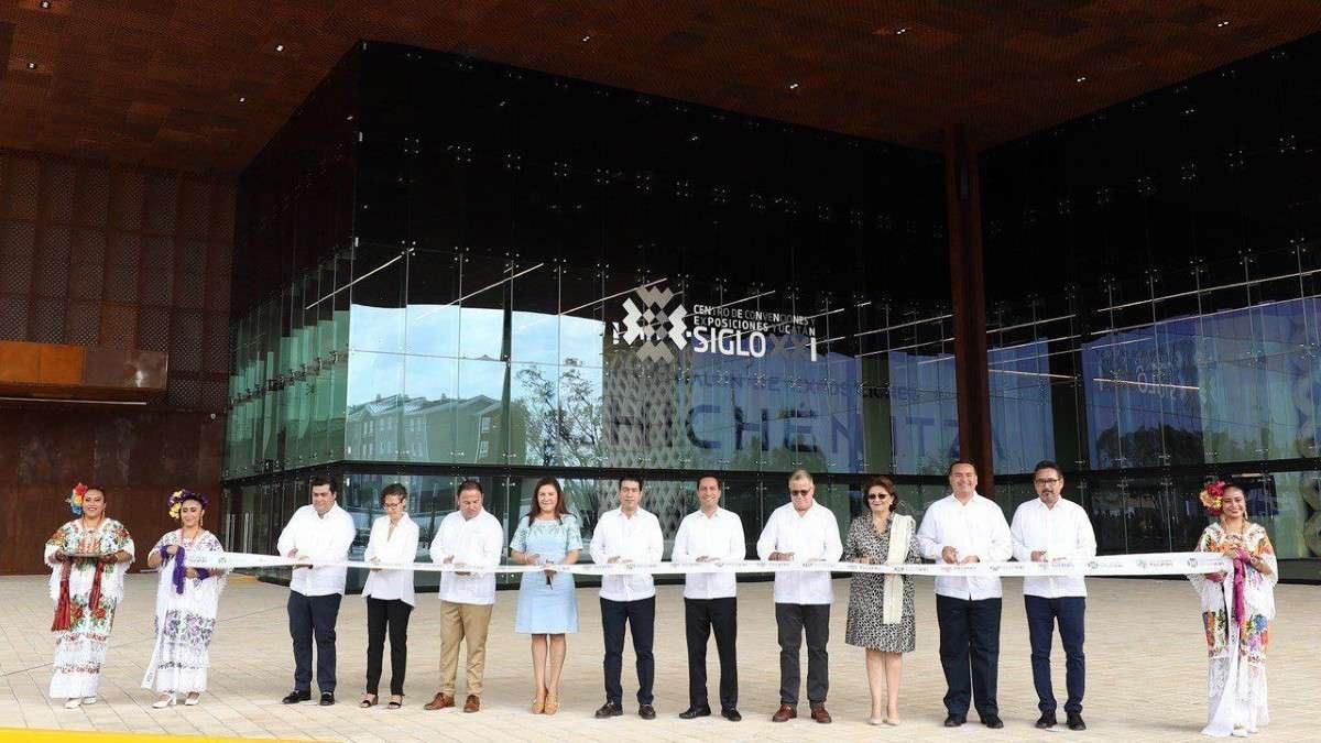 gobernador mauricio vila yucatan obras centro de convenciones negocios