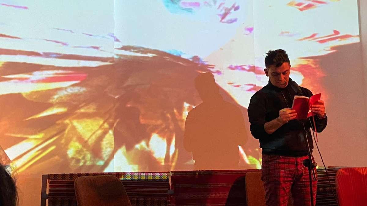Festival de Poesia Transidsciplinaria con Pablo Jofre