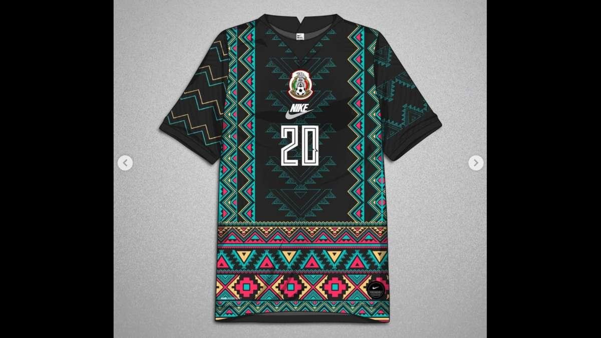 playeras Seleccion Mexicana diseno zapoteca
