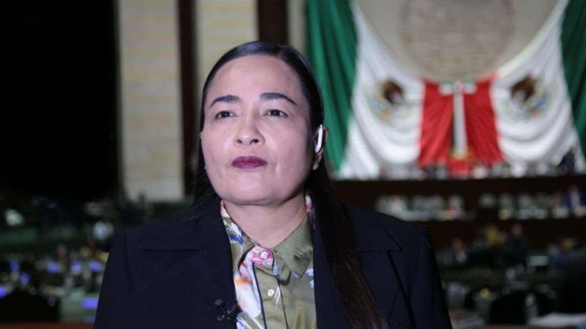 Verónica Juárez, coordinadora de la bancada perredista en la Cámara de Diputados. Foto: Especial