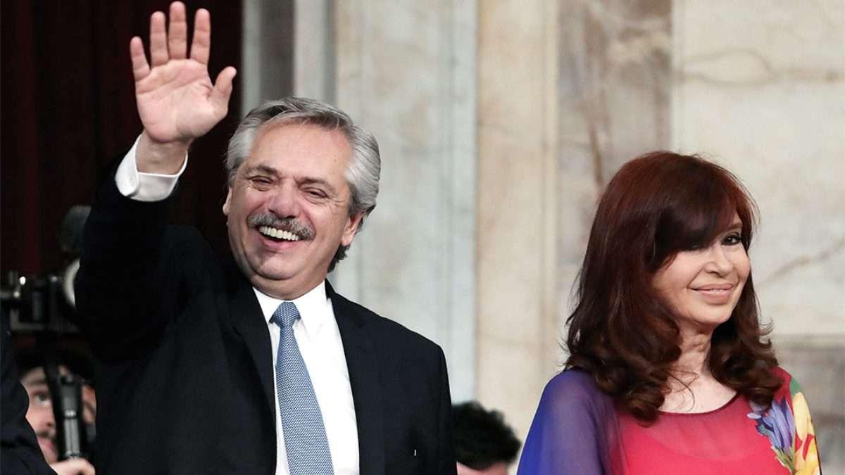 CONGRESO. El mandatario argentino marcó las prioridades de su gobierno. Foto: AFP