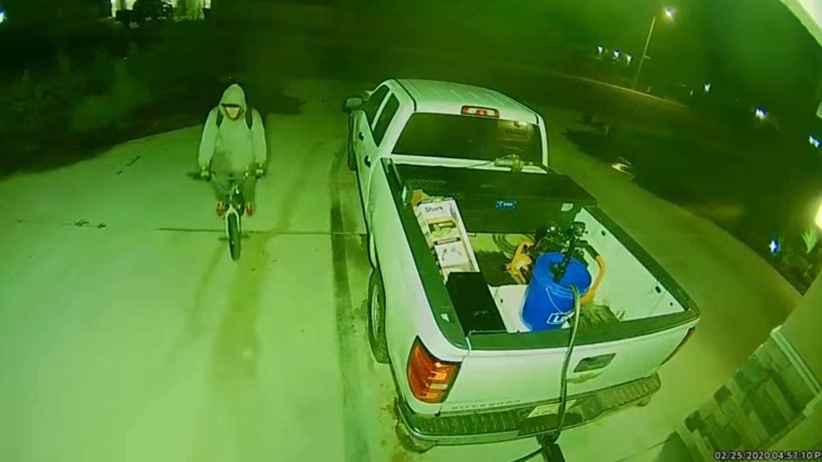 ladron robo casa video mecanismo