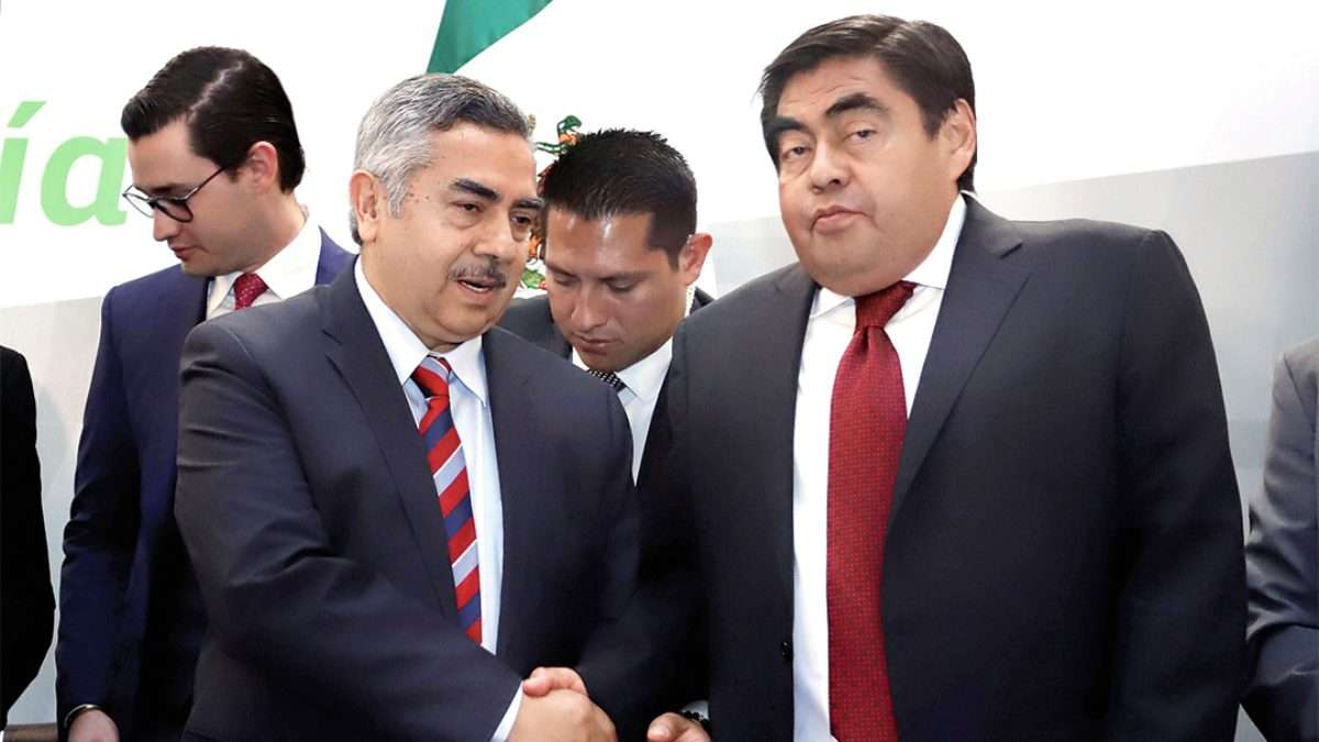 GRAN POTENCIAL. El subsecretario de Hidrocarburos de la Sener estrechó lazos. Foto: ENFOQUE