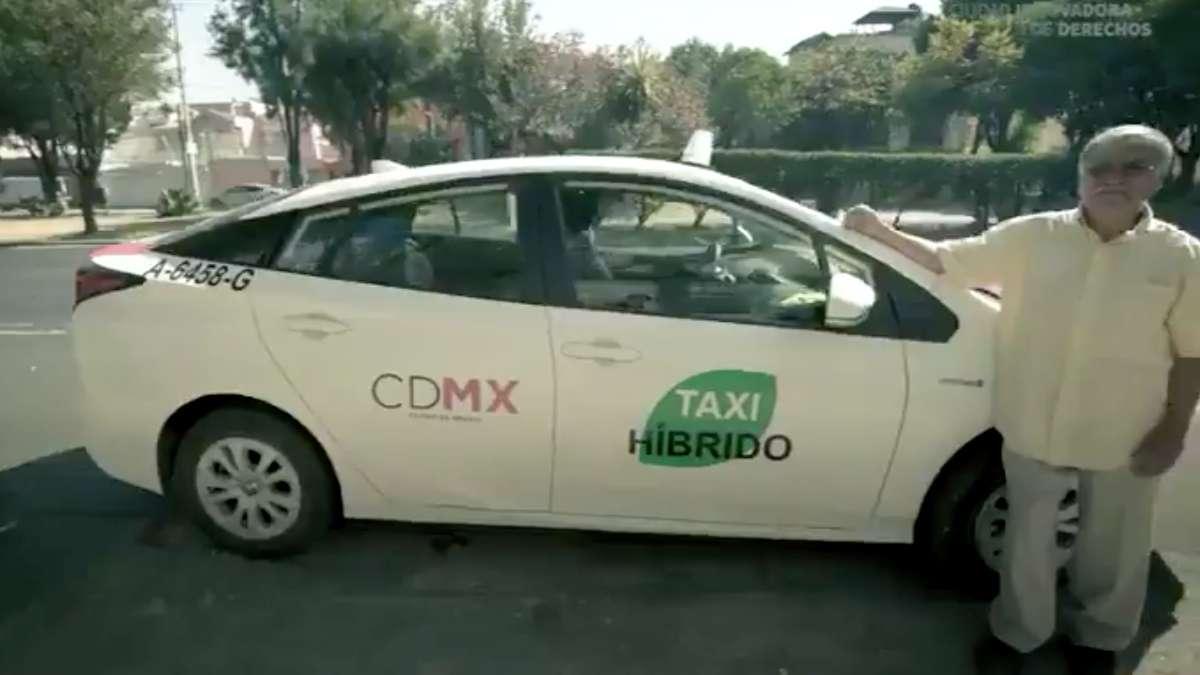 sustitucion taxis CDMX