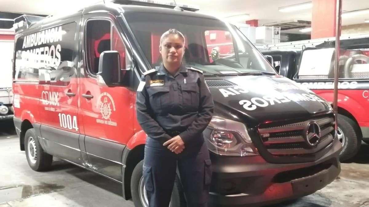 mujer bombero bebe iztacalco cdmx