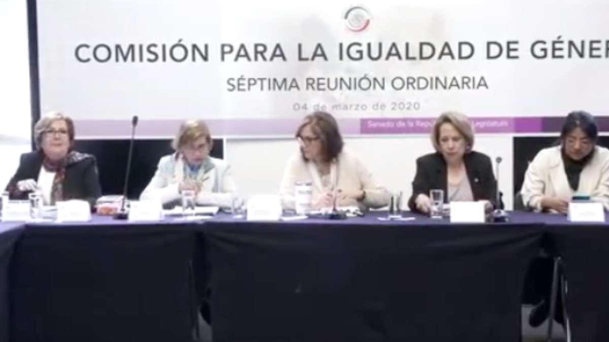 senado-iniciativas-mujeres-reformas-comision-igualdad-genero